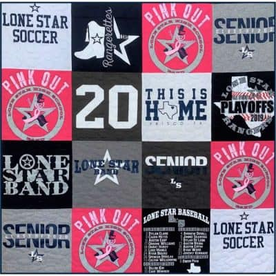 T-Shirt Quilt by SewISaid.com