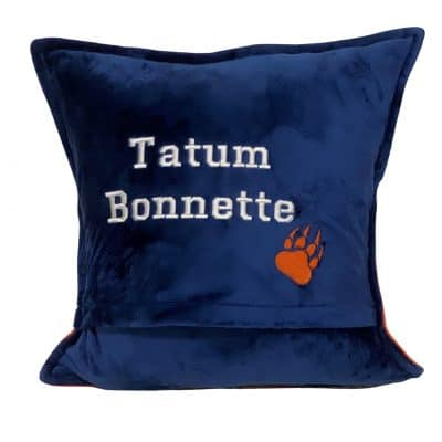 One T-Shirt Memory Pillow by SewISaid.com